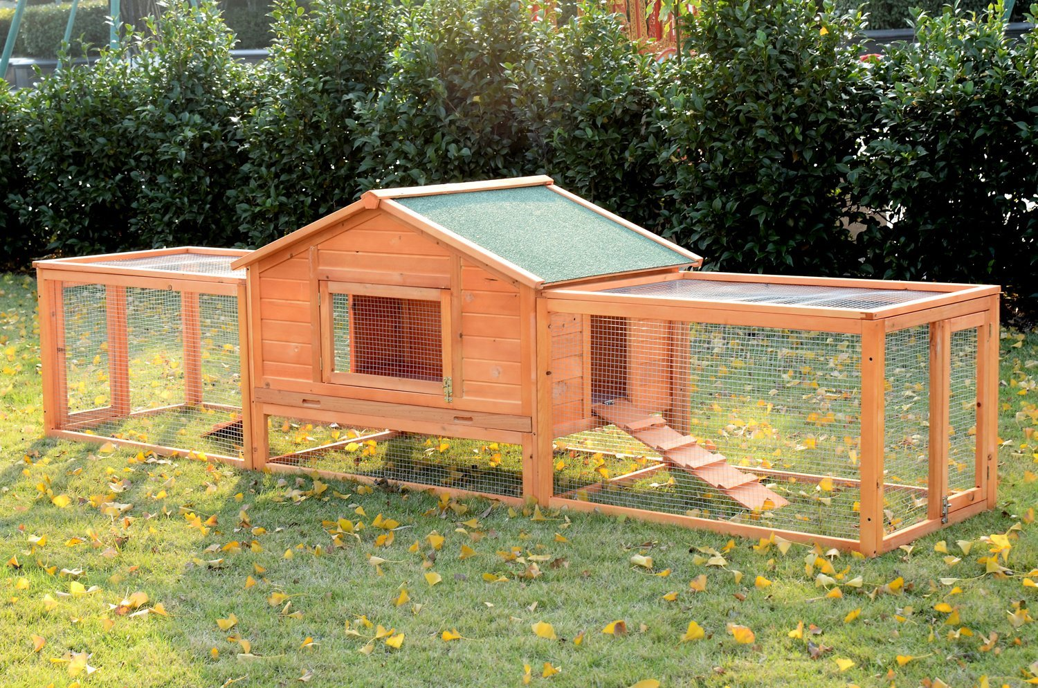 weatherproof bottom removed com for amazon with petsfit chicken dp year coop hutch supplies nesting box outdoor cleaning easy pet warranty can hutches be